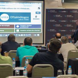 Sesión de trabajo en Madrid con las lentes ICL de Staar Surgical como eje principal