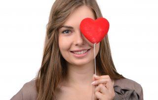 Corazón y vista
